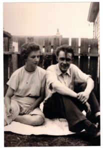 Virginia and Ted Byfield in 1952
